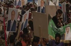 الآلاف يتظاهرون في عدن رفضا لخطة الأمم المتحدة