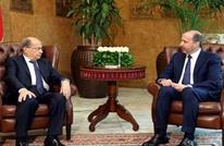 ميشال عون يستقبل مبعوث الأسد بلبنان.. وهذه رسالته