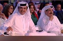 """أمير قطر يشارك """"الجزيرة"""" بحفل انطلاقتها الـ""""21"""" (شاهد)"""
