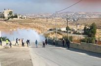 """إسقاط """"طائرة مسيّرة"""" للاحتلال خلال مواجهات بالضفة (شاهد)"""