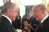 أردوغان يلتقي ترامب على مائدة عشاء في العاصمة باريس (صور)