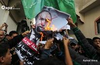 مظاهرات وتوزيع حلوى بغزة ابتهاجا باستقالة ليبرمان (شاهد)