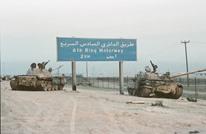 سيول الكويت تكشف مخلفات الجيش العراقي أيام الغزو (صور)
