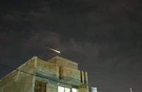 سقوط جسم غريب من سماء مدينة الكوت العراقية (شاهد)