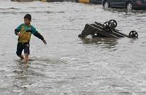 غرق آلاف الدونمات الزراعية في انهيار سدين بالعراق (شاهد)