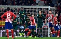 أتليتكو مدريد يركب سفينة ثمن نهائي دوري الأبطال (شاهد)