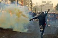 بوسائل بدائية.. متظاهرو العراق يكافحون قنابل الغاز (شاهد)