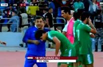 هكذا تضامن لاعبو منتخب العراق مع المتظاهرين (فيديو)