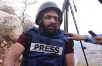 حملة تضامنية واسعة مع صحفي فلسطيني فقد عينه بنيران الاحتلال