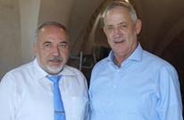تقدم بمفاوضات تشكيل الحكومة بين غانتس وليبرمان