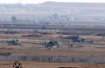 تحطم مروحية للنظام السوري في حماة ومقتل طاقمها