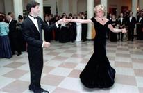 عرض فستان ديانا أثناء رقصتها مع ترافولتا بهذا السعر