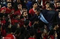 اعتقال شاب رفع علم فلسطين في مباراة بمصر