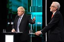"""""""بريكست"""" يشعل مناظرة انتخابية بين جونسون وكوربن"""