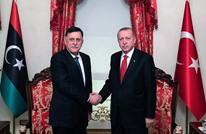 أردوغان يجري مباحثات مع السراج في إسطنبول