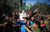 تشييع طفل فلسطيني قتل برصاص الاحتلال بغزة (شاهد)