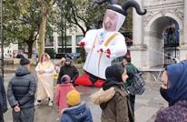 تظاهرة في لندن ضد التطبيع السوداني مع الاحتلال (شاهد)