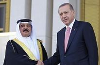 أردوغان يبحث مع ملك البحرين تطوير العلاقات بين البلدين