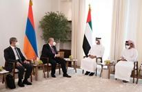 """رئيس أرمينيا يلتقي ابن زايد في أبوظبي وحديث عن """"قره باغ"""""""