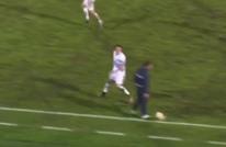 مدرب يتحول إلى مدافع في الدوري الإيطالي (شاهد)