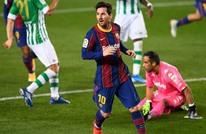 ميسي يقود برشلونة لاستعادة نغمة الفوز في الليغا