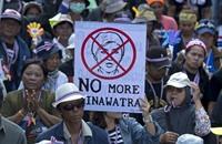 28 جريحًا في بانكوك بهجوم على متظاهرين