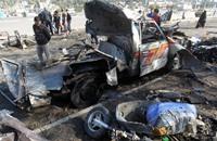 3 سيارات مفخخة تقتل 37شخصا في كركوك وبغداد