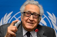 الإبراهيمي ينفي تعيينه لرئاسة مؤتمر الحوار الوطني بالجزائر