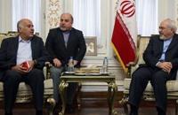 الرجوب يلتقي بوزير الخارجية الإيراني في طهران