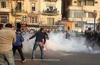 إصابات باشتباكات إثر فض مسيرات لمؤيدي مرسي