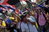 أولى تظاهرات العام الجديد لإسقاط حكومة تايلاند
