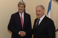 """""""الخارجية الأمريكية"""": سجل كيري يثبت وقوفه مع إسرائيل"""