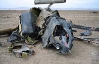 مقتل 4 أشخاص بتحطم مروحية عسكرية أميركية