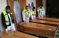 دفن قتلى اليهود بهجمات باريس في القدس المحتلة