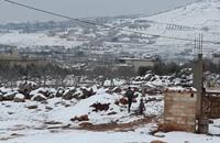 لاجئون سوريون تجمدوا حتى الموت على الحدود اللبنانية (صور)
