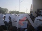 رئيس موريتانيا يقود مظاهرات منددة بالرسوم المسيئة