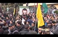 تشييع نجل القيادي السابق في حزب الله عماد مغنية (فيديو)