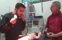 تفشي التهاب القصبات في مناطق المعارضة السورية (فيديو)