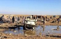 65 قتيلا في قصف لطيران النظام السوري في الحسكة