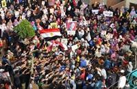 """""""الإخوان"""" تدعو لتوحد الثوار والتمسك بأهداف ثورة 25 يناير"""