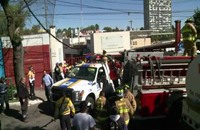 مقتل شخصين وجرح 66 في انفجار للغاز داخل مستشفى (فيديو)