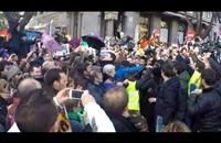 """مشاركة جماهيرية واسعة في """"مسيرة التغيير"""" بمدريد (فيديو)"""