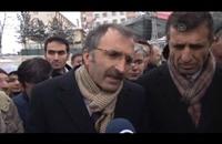 الآلاف يشاركون بمسيرة لاحترام النبي ولعنة الظلم بتركيا (فيديو)
