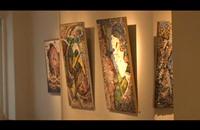 فنانة مصرية تستوحي فكرة الرسم بالفسيفساء (فيديو)