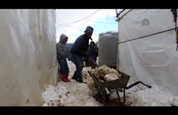 زينة تفاقم مأساة 120 عائلة سورية نازحة شرقي لبنان (فيديو)