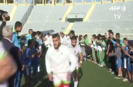 مباراة ودية في الركبي بين المنتخب الجزائري و المنتخب التونسي