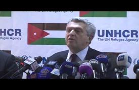 """مفوض أممي من """"الزعتري"""": مؤتمر دولي للاجئين بسويسرا في مارس"""