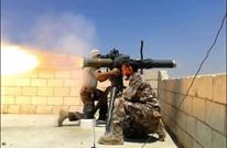 استهداف مجموعة لحزب الله بصاروخ في ريف حلب (فيديو)