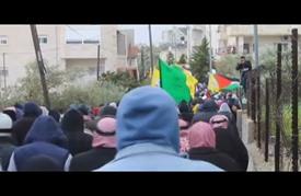 """تشييع جثمان الشهيد الفتى """"حلبية"""" شرقي القدس"""
