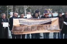 الائتلاف السوري يعتصم في إسطنبول لإيصال مأساة الشعب قبيل جنيف3